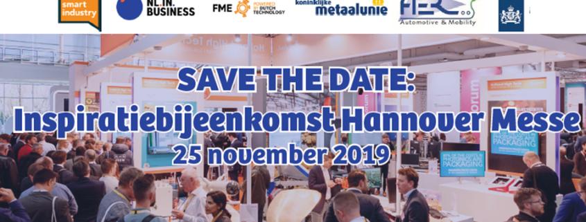 Inspiratiebijeenkomst Hannover Messe 2020