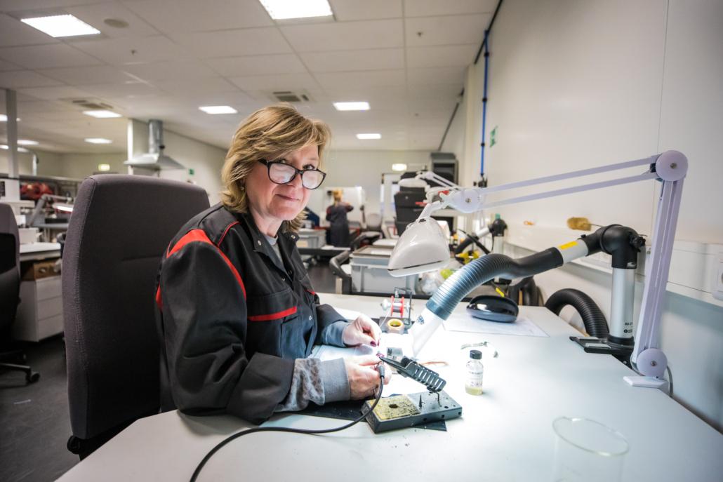 Bij VAF Instruments wordt met passie gewerkt | © Foto's Daniel Verkijk