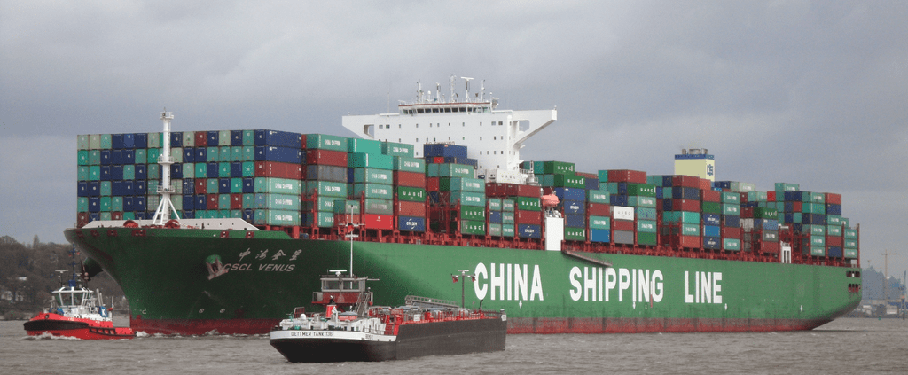 Container ship china