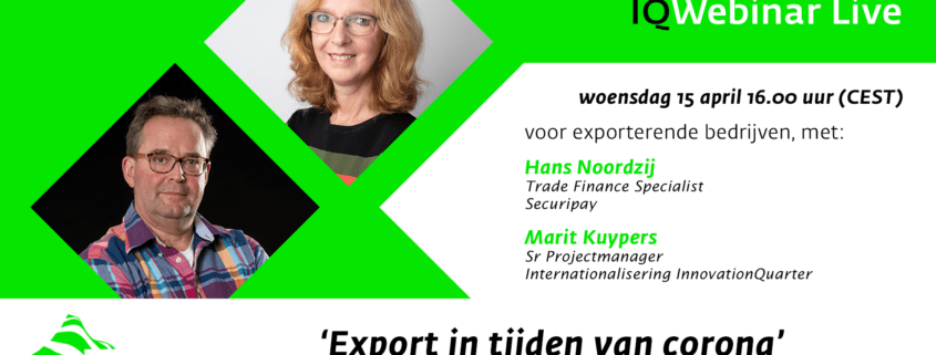 IQ Live Webinar Internationalisering