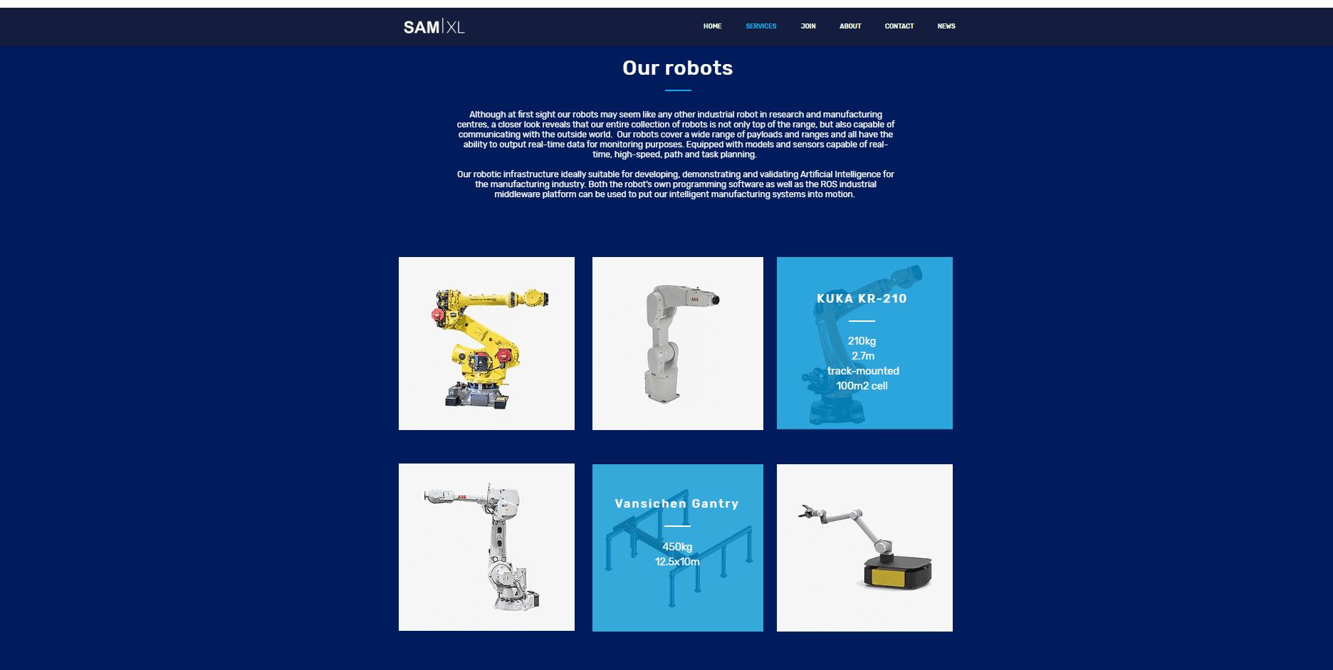 Nieuwe website SAMXL